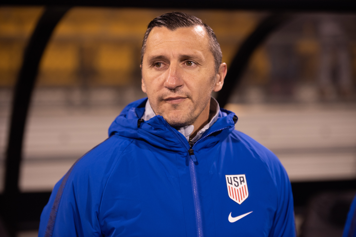 The U.S. Women's National Team's new head coach, Vlatko Andonovski, is an alum of Ohio University's Master's in Soccer Coaching Education program. Andonovski led the US team to a a 3-2 victory against Sweden in first game as head on November 7, 2019 in Columbus, Ohio.
