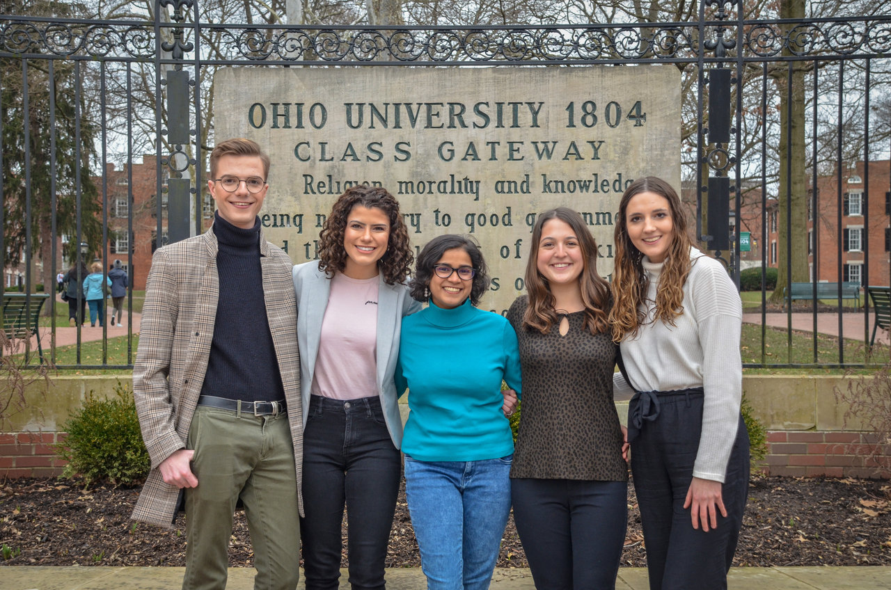 The five OHIO students behind Bobcats, Get on the Map.
