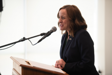 Julie Cromer speaking