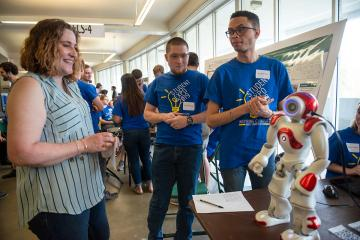 Student Expo - robot