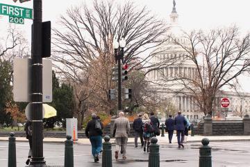 The EPPLC 2019 cohort heads toward Capitol Hill