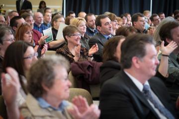 Administrative Senate Awards crowd