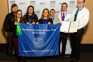 Ohio University Chapter of American Meteorological students