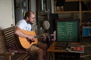 Matt Johnson guitar