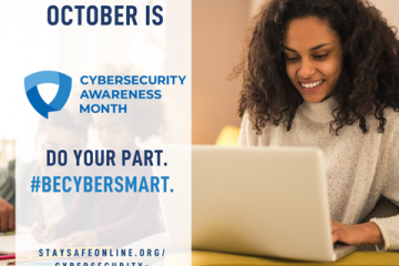 cybersecurity month promotion image