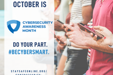 cybersecurity month promotion