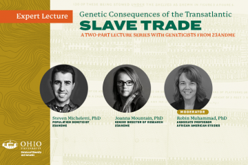 Genetic Consequences lecture series promo