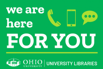 libraries we are here for you graphic