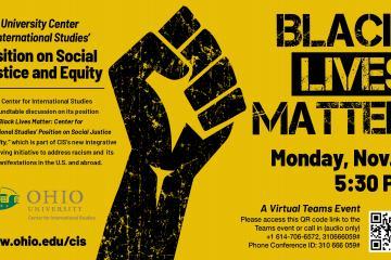 Black Lives Matter event promo image
