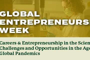 Global Entrepreneurship Week promotional graphic