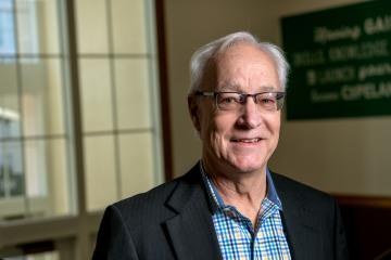 Hugh Sherman, former dean of the College of Business