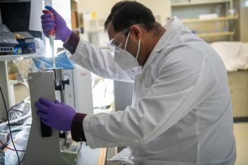 Ismail Hossain works in Hines Lab