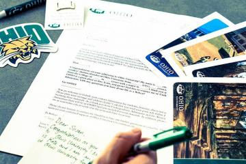 Registration for Ohio University's Postcard Project and the new Phone Call Project is open to all degree-holding OHIO graduates