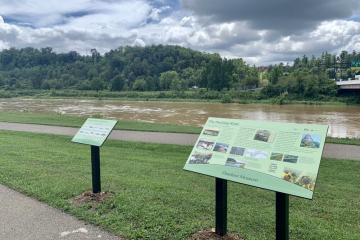 Hocking River OM signs