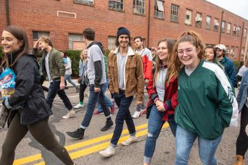 OHIO welcomed students back for Homecoming in 2019.