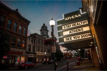 Athena Cinema Stay Healthy Athens