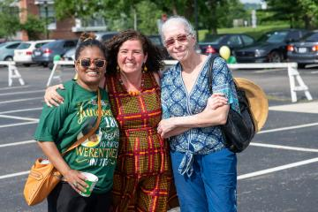 Ohio University held its first Juneteenth celebration in 2021.