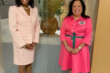 Dr. Shantelle K. Jenkins and Dr. Gigi Secuban