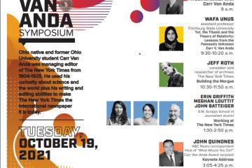 Carr Van Anda symposium 2021
